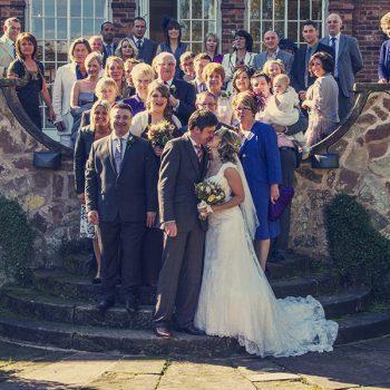 wedding photographers dunsley hall kinver