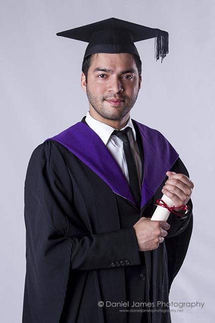 dudley graduation portrait