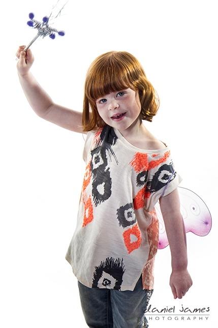 fairy princess child photo shoot kidderminster