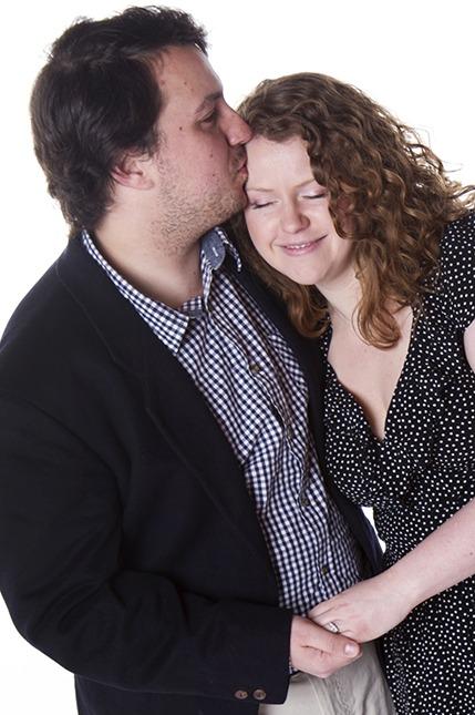 birmingham engagement portrait