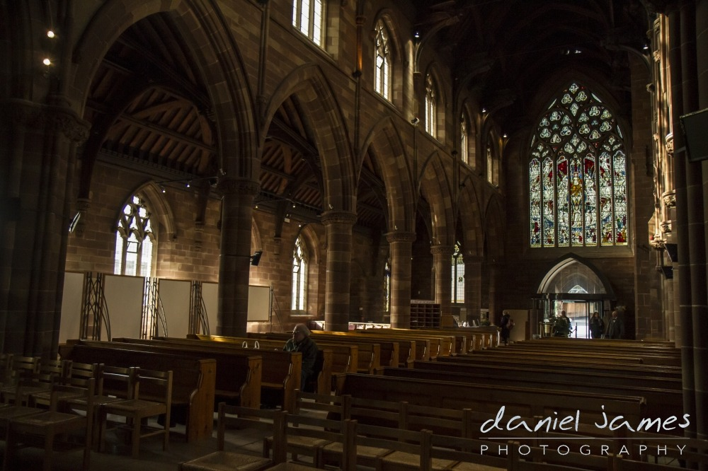 church st martin in the bullring birmingham photograph
