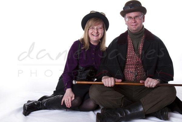 steampunk photo shoot