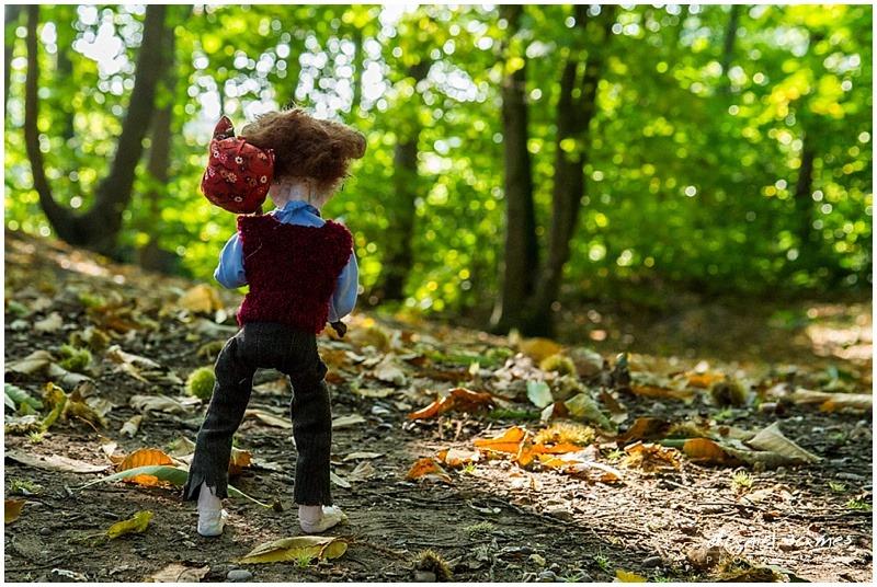 puppet portrait woods