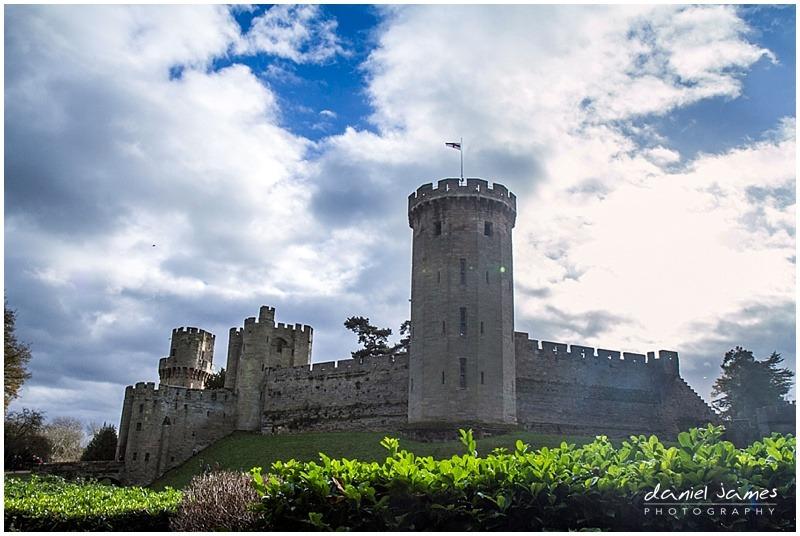 warwick castle exterior