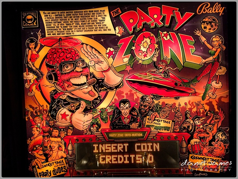party zone pinball machine retro birmingham