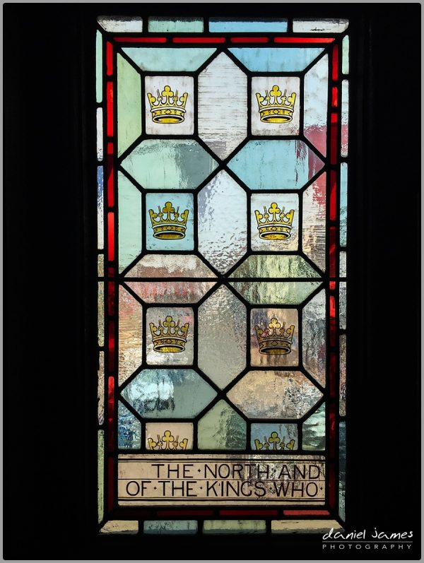 the north stained glass window bridgnorth