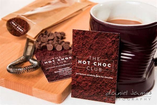 chocolate product photography