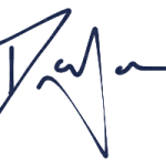 Daniel James Signature