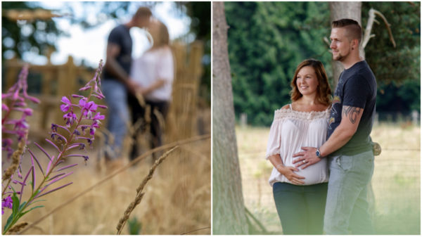 kinver edge pregnancy photo shoot