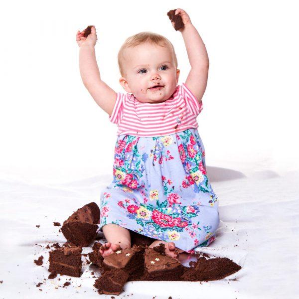 birthday photographer cake smash stourbridge